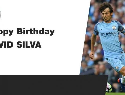Happy Birthday David Silva